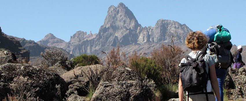 4 Days Mount Kenya Climbing Chogoria – Sirimon Route