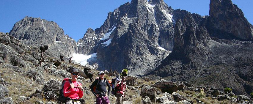 4 Days Mount Kenya Climbing Naro Moru – Sirimon Route