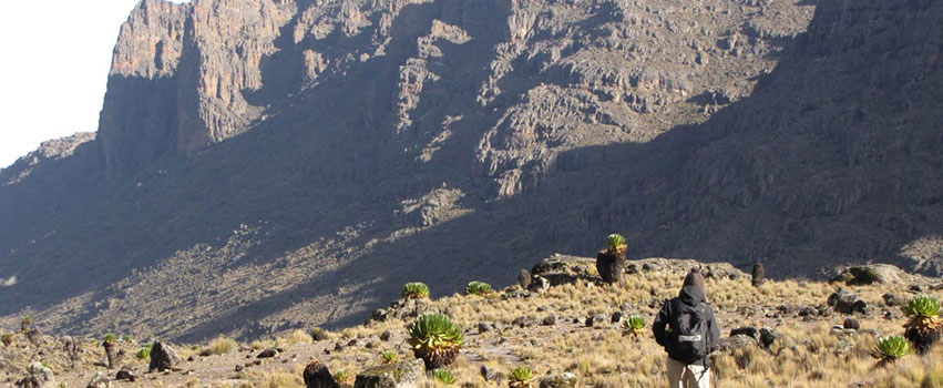 5 Days Mount Kenya Climbing Sirimon – Chogoria Route